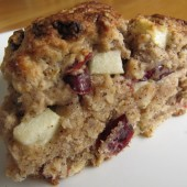 Apple Cranberry Scones