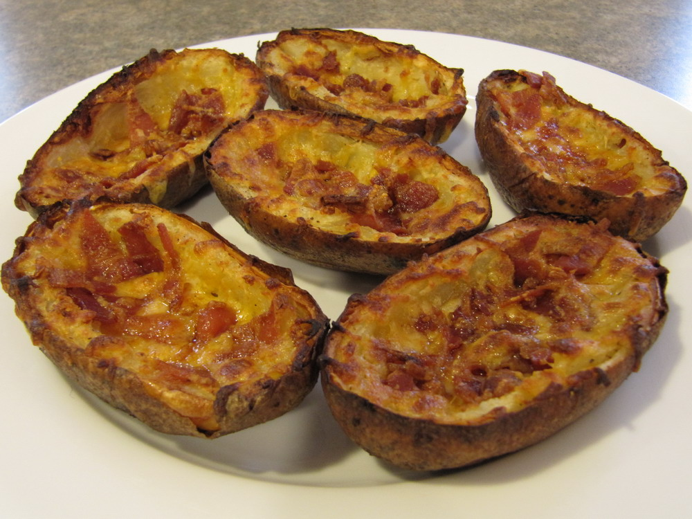 ... potato skins cheese and bacon potato skins cheese and bacon