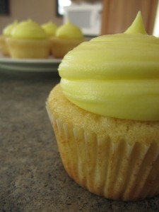 lemon icing for cupcakes