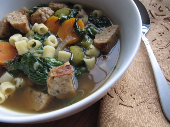 Slow Cooker Italian Wedding Soup | Baked by Rachel