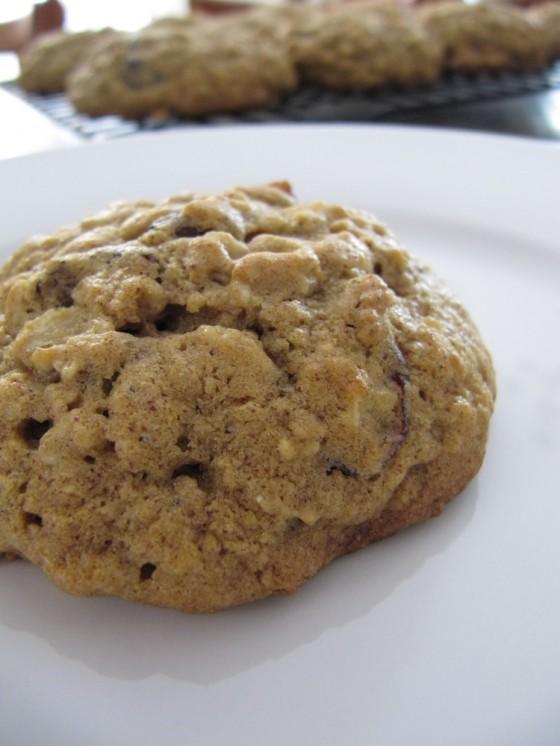 Pumpkin Oatmeal Cookies | Baked by Rachel