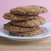 Jumbo Dark Chocolate Chunk Oatmeal Cookies