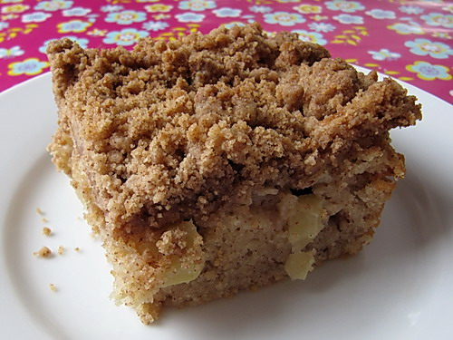 Moist cinnamon streusel coffee cake recipe