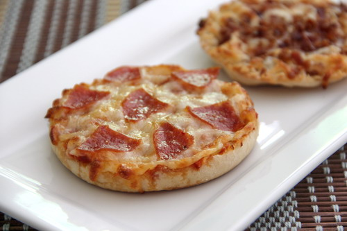 Baked By Rachel English Muffin Pizzas