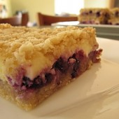 Blueberry Lemon Squares