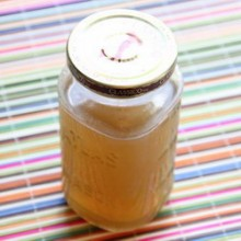 Homemade Slow Cooker Chicken Stock