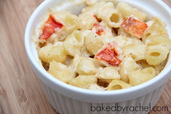 Lobster Mac and Cheese Recipe from bakedbyrachel.com