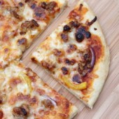 Italian Sausage and Pepper Pizza