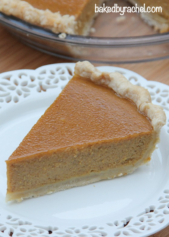 Jamaican-Spiced Pumpkin Pie Recipe from @bakedbyrachel