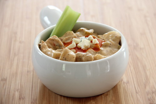 Slow Cooker Buffalo Chicken Chowder | Baked by Rachel