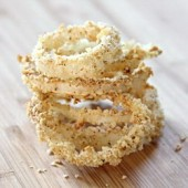 Baked Panko Onion Rings