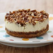 Apple pecan cheesecake and my 2011 favorites