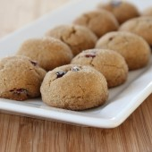 Cranberry Molasses Cookies
