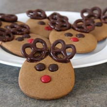 Reindeer Cookie Fail