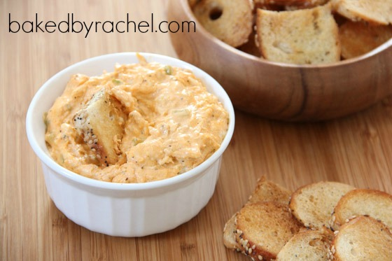 Buffalo Chicken Dip Recipe from bakedbyrachel.com
