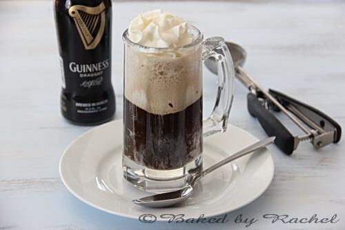 Guinness Ice Cream Float - bakedbyrachel.com