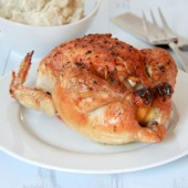 Lemon and Garlic Roast Chicken