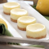 Mini Lemon-Lime Cheesecakes
