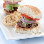 Mushroom Sliders with Spicy Fry Sauce