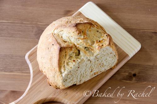 Spicy Garlic Bread | Baked by Rachel