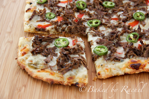 carnitas pizza - baked by rachel