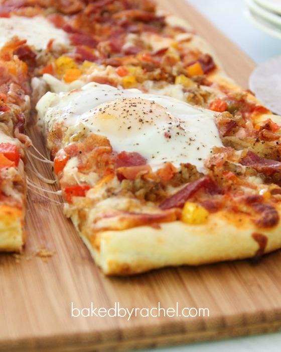 Breakfast Pizza | Baked by Rachel