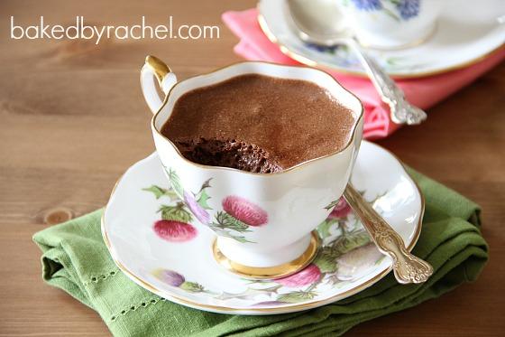 Chocolate Mousse Recipe from bakedbyrachel.com