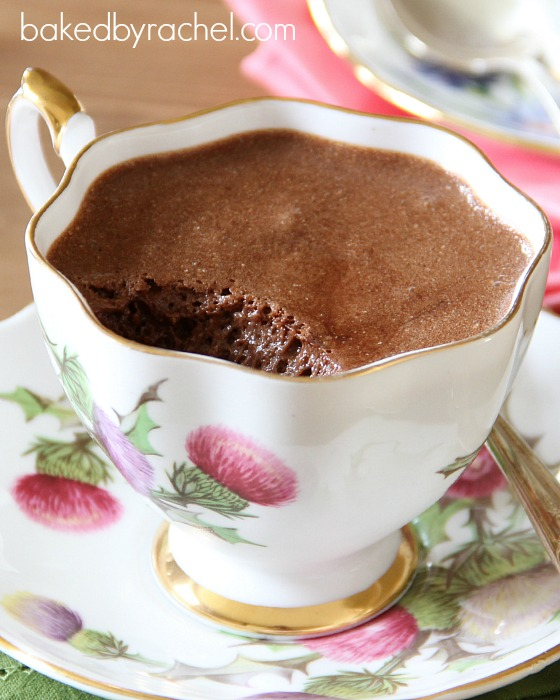 Julia Child's Chocolate Mousse Recipe at bakedbyrachel.com