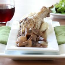Coq Au Vin (Chicken with Wine)