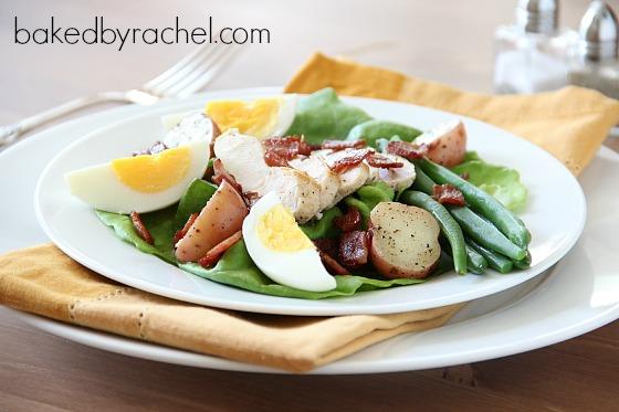 Salade Niçoise Recipe from bakedbyrachel.com