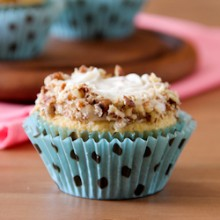 Italian Cream Cupcakes