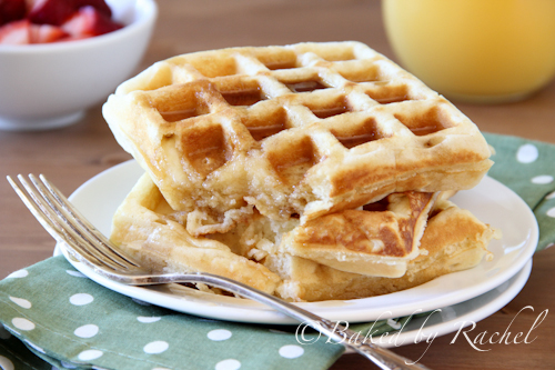 Buttermilk Waffles | Baked by Rachel