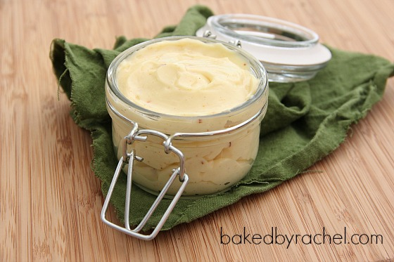 Homemade Mayonnaise Recipe from bakedbyrachel.com