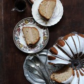 Apple Butter Bundt Cake by Bakers Royale - bakedbyrachel.com