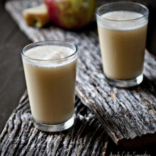 Apple Cider Smoothie by Dine and Dish - bakedbyrachel.com