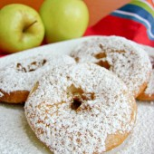 Easy as Pie Apple Fritters by In Katrina's Kitchen - bakedbyrachel.com