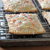 Apple Cinnamon Pop-Tarts with Caramel Icing