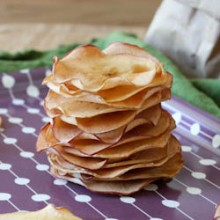 Maple Apple Chips