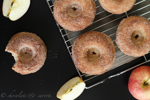 Whole Grain Apple Cinnamon Baked Donuts | Baked by Rachel