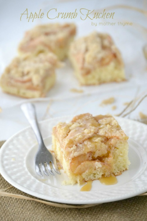 Apple Crumb Kuchen