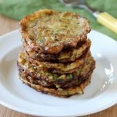 Zucchini Fritters - bakedbyrachel.com