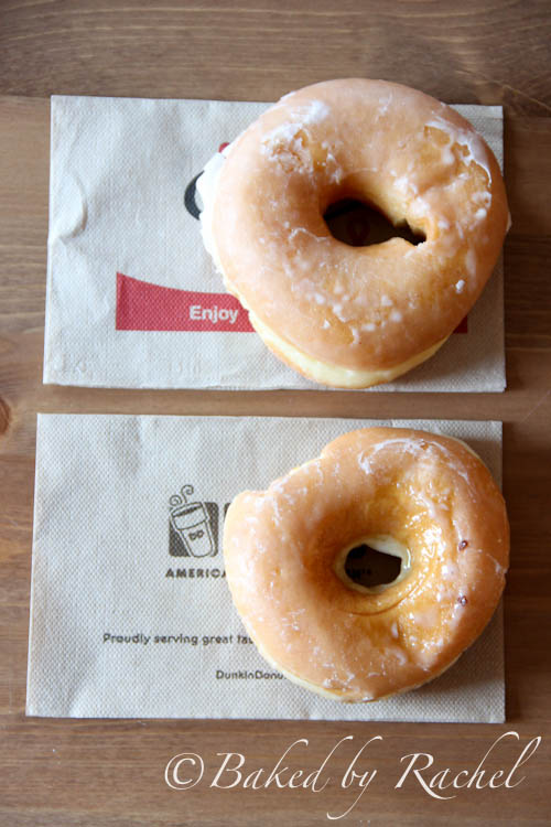 dunkin donut vs mister donut 22-05-2018  i grew up in boston where dunkin donuts are more plentiful than starbucks dunkin's donuts are more cake-like whereas the krispie kremes are yeast based.