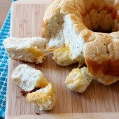 Cheese and Herb Monkey Bread - bakedbyrachel.com