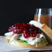 Orange-Cranberry Sauce - bakedbyrachel.com