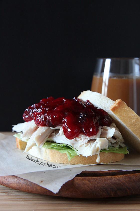 Orange-Cranberry Sauce Recipe from bakedbyrachel.com