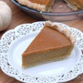 Jamaican Spiced Pumpkin Pie - bakedbyrachel.com