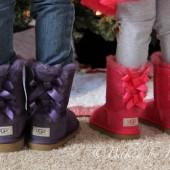 UGG Australia Bailey Bow Girls Boots Giveaway - bakedbyrachel.com