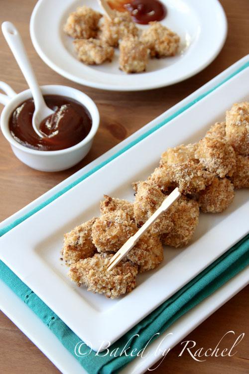 Spicy Chicken Bites Recipe - bakedbyrachel.com
