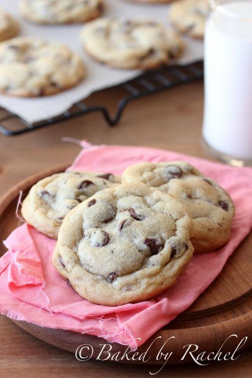 NY Times Chocolate Chip Cookie Recipe - bakedbyrachel.com