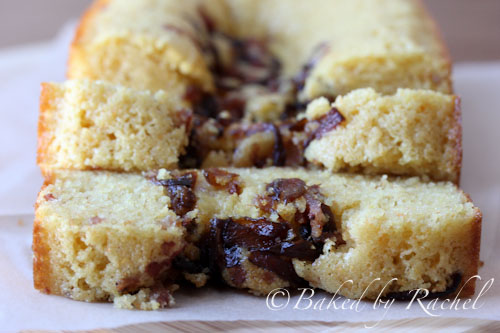 Caramelized Onion and Bacon Cornbread Recipe - bakedbyrachel.com